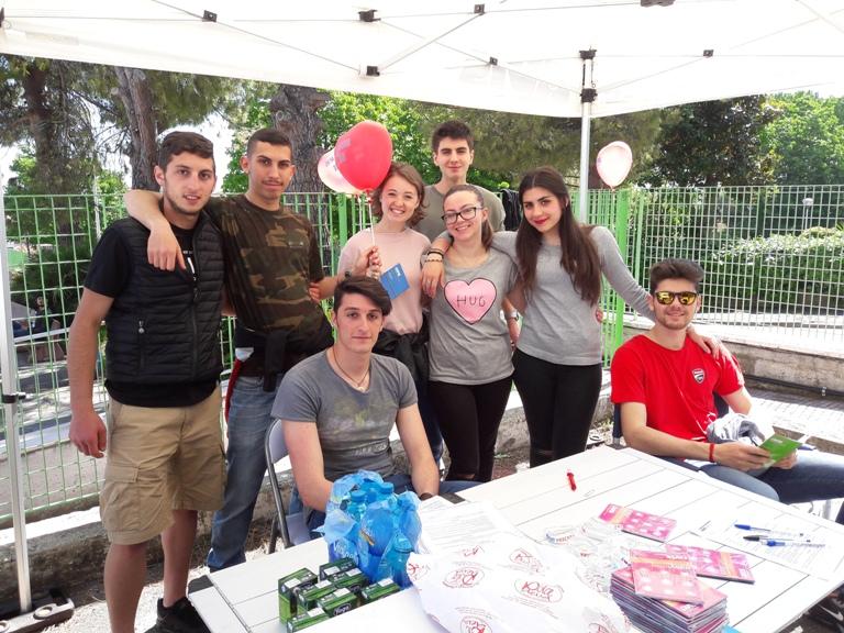 Avis al Liceo Volta per nuovi donatori